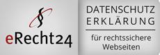 eRecht24 für rechtssichere Webseiten